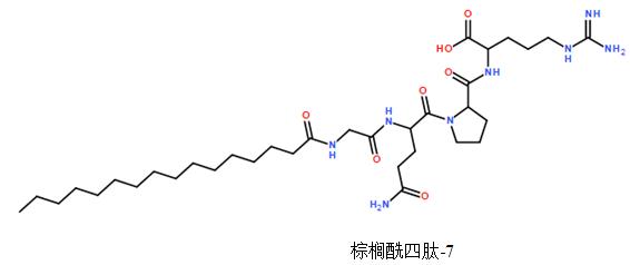 棕榈酰四肽-7(图1)