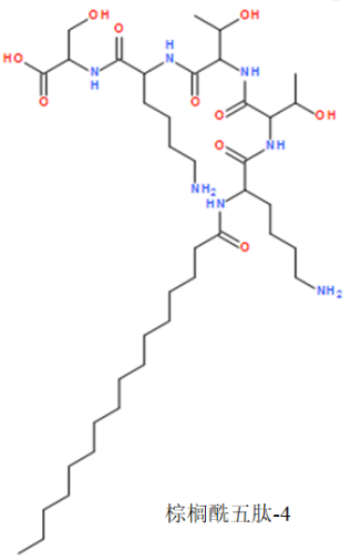 棕櫚酰五肽-4(圖1)
